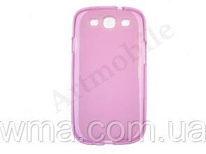 Чехол на Samsung i9300 Galaxy S3, пластиковый, розовый