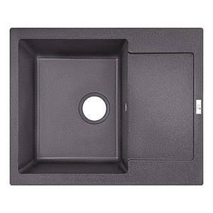 Кухонная мойка Lidz 625x500/200 GRF-13 Black (LIDZGRF13625500200)