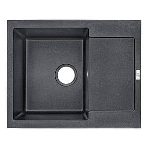 Кухонная мойка Lidz 625x500/200 BLM-14 Black (LIDZBLM14625500200)