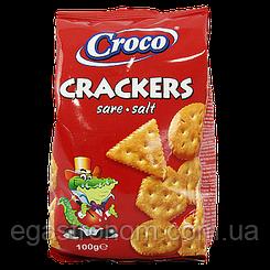Крекер Кроко солений Croco 100g 12шт/ящ (Код : 00-00006044)