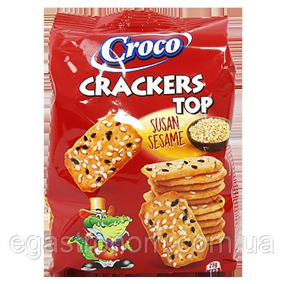 Крекер Топ Кроко з конжутом Croco Top 150g 12шт/ящ (Код : 00-00006042)