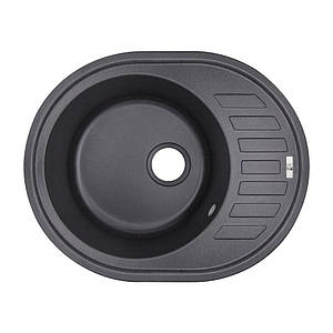 Кухонная мойка Lidz 620x500/200 BLA-03 Black (LIDZBLA03615500200)