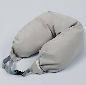 Подушка Penelope - Sleepgri Go сірий (підголовник)