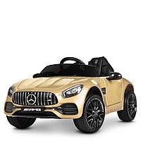 Детский электромобиль Машина M 4062EBLRS-13, золото, фото 1