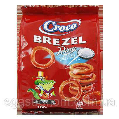 Соломка кільця солені Кроко Croco 100g 14шт/ящ (Код : 00-00006053)