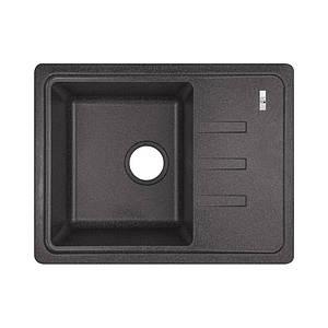 Кухонная мойка Lidz 620x435/200 BLA-03 Black (LIDZBLA03620435200)