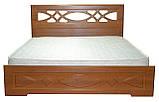 Кровать Неман Лиана + 4 ящика 180x200 орех светлый, фото 2