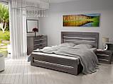 Ліжко Німан Соломія + 4 ящики 140x200 венге південний, фото 2