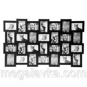 Фоторамка Collage 28, чорна