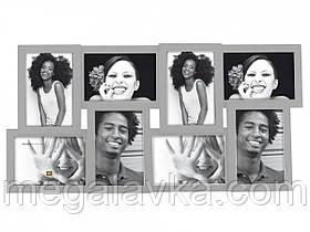 Фоторамка Layered Collection, сірий