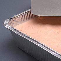 SP88L Контейнер алюминиевый прямоугольный 2000 мл запекание хранение доставка еды 50 шт., фото 3