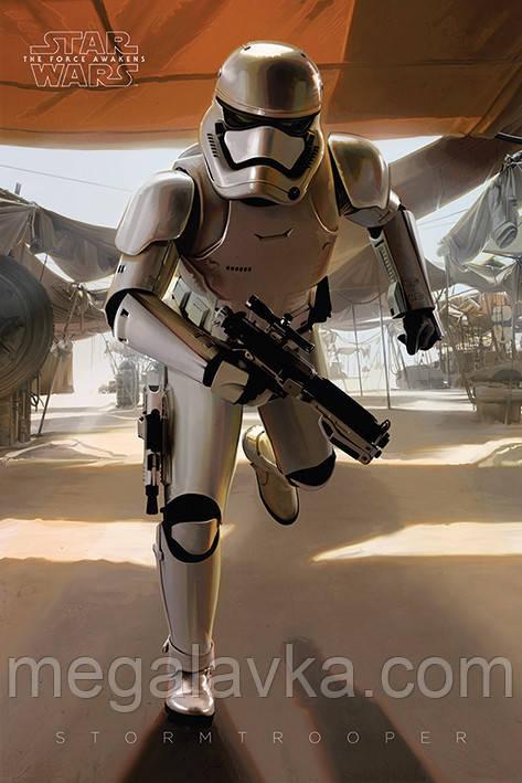 "Постер ""Star Wars Episode Vii (Stormtrooper Running) "" 61 x 91,5 см"