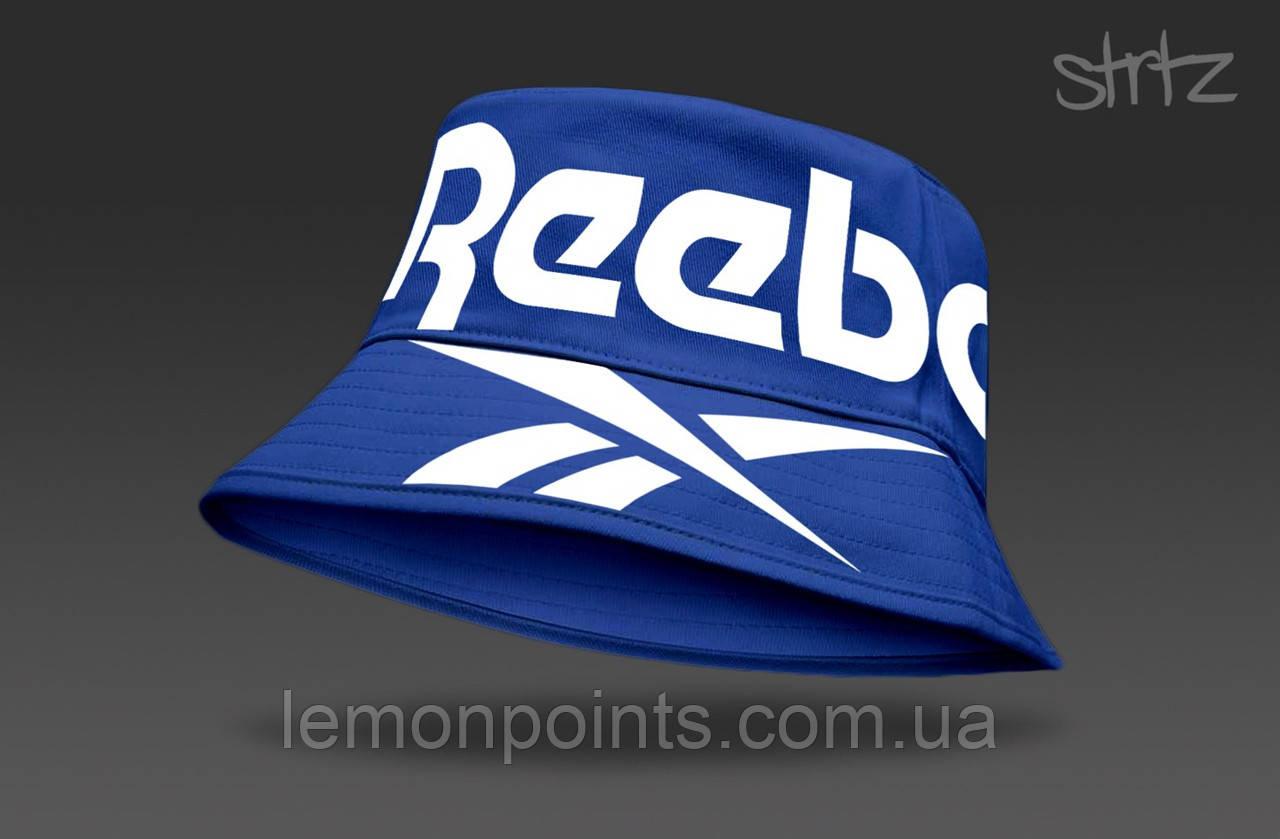 Панамка Reebok  летняя хлопковая  синяя