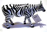 """Коллекционная статуэтка корова """"Striped"""", Size L, фото 2"""