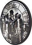 """Часы настенные 3D """"Kiss me in Paris"""" ?39 см, фото 2"""