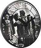 """Часы настенные 3D """"Kiss me in Paris"""" ?39 см, фото 3"""