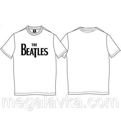 """Футболка Official """"The Beatles"""", біла M"""
