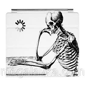 """Чохол для iPad 2 """"Скелет-мислитель"""""""