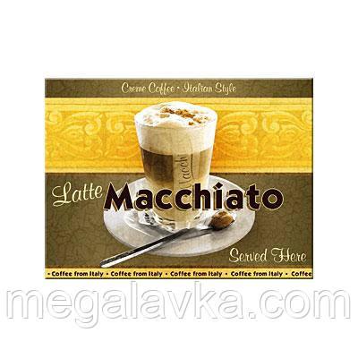 "Магнит 8x6 см ""Latte Macciato"" Nostalgic Art (14038)"