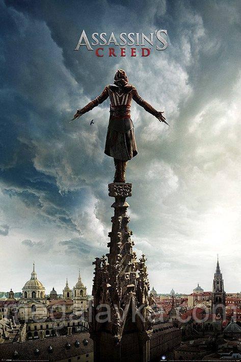 """Постер """"Assassin's Creed Movie (Spire Teaser)"""" 61 x 91,5 см"""