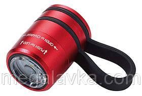 Ліхтарик спортивний червоний