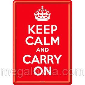 "Открытка ""Keep Calm and Carry On"" Nostalgic Art (10212)"
