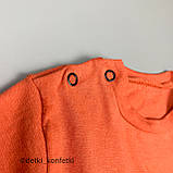 Комплект футболка, шорты оранжевый Интерлок Murat babyТурция 74 (р), фото 2