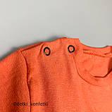 Комплект 2в1,футболка+шорты Оранжевый Интерлок 0238 Murat baby Турция 86(р), фото 2