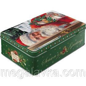 """Коробка для зберігання """"Santa Clouse"""" Ностальгічне Art (30738)"""