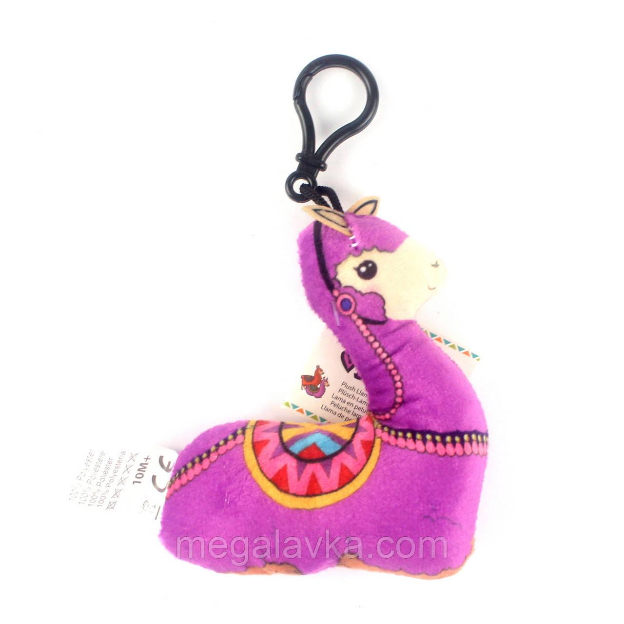 """Плюшевая игрушка """"Музыкальная лама"""", розовая"""