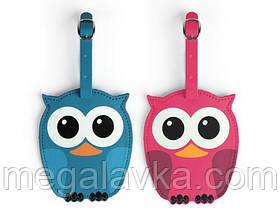 """Багажна бирка """"Whoo Owl"""""""