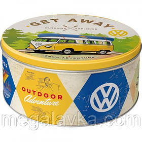 "Коробка для хранения ""Round L VW Bulli"" Nostalgic Art (30601)"