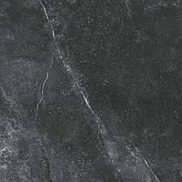 60x60 Керамограніт підлогу Space Stone Спейс Стоун чорний матовий, фото 1