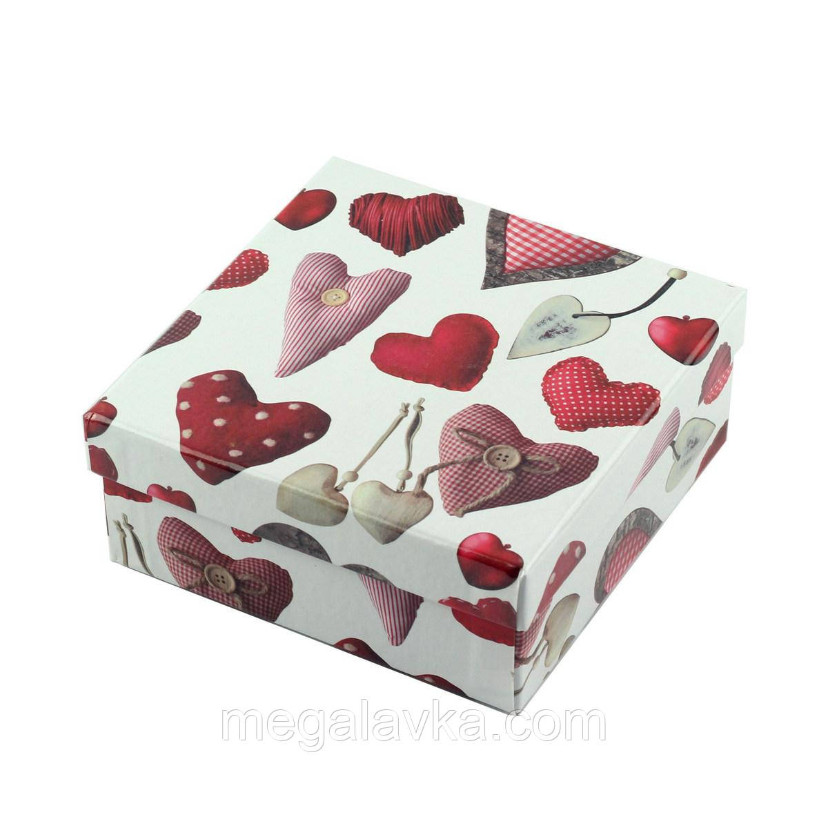 "Коробка подарочная ""Heart"" 14 х 14 х 6 см"