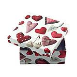 """Коробка подарочная """"Heart"""" 14 х 14 х 6 см, фото 2"""
