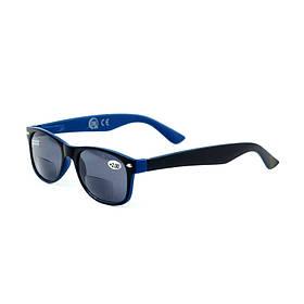 """Сонцезахисні окуляри сині """"CDU SUN"""" +2.00 Dpt"""