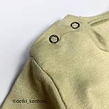 Комплект футболка, шорты Хаки Интерлок Murat baby Турция 74 (р) 86, фото 2