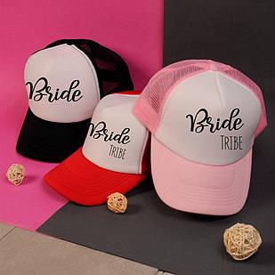 """Кепка на девичник для невесты и подружек """"Bride +Bride tribe"""""""