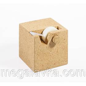 Диспенсер для скотча из коркового дерева