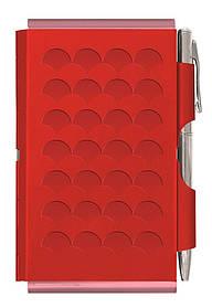 Кишеньковий блокнот з ручкою Diamond, червоний