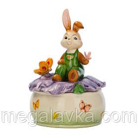 Музыкальная шкатулка с кроликом