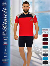 Футболка з шортами чоловічі RIMOLI 865