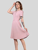 Модне плаття з гофрованої спідницею збільшених розмірів