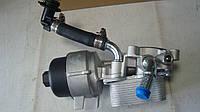 Радиатор масла Scudo 2.0JTD 07- (теплообменник + корпус фильтра), фото 1