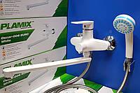 Смеситель для ванны Plamix Oskar -006 Euro White