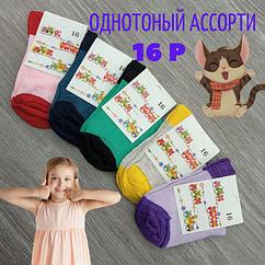 Носки детские демисезонные 16р цветное ассорти 30031511