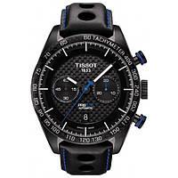 Чоловічі Годинники Tissot T-SPORT Automatic T100.427.36.201.00 PRS 516 Chronograph Carbon 100m