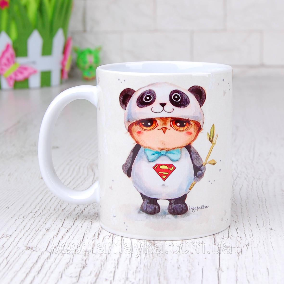 Чашка Сова