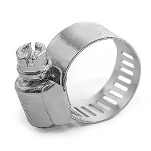 Хомут сталевий оцинкований 12,7 мм D 16-25 мм INTERTOOL TC-0116