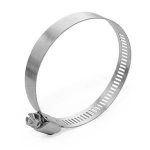 Хомут сталевий оцинкований 12,7 мм D 52-76 мм INTERTOOL TC-0152
